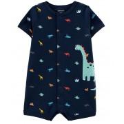 Macaquinho azul dinossauros - Carters