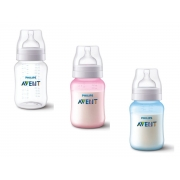 Mamadeira Anti-colic clássica 260 ml (1m+) - Avent
