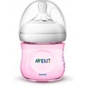 Mamadeira pétala rosa 125 ml (0m+) - Avent