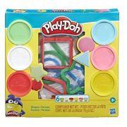 Massinha PLAY-DOH fundamentos Formas - Hasbro