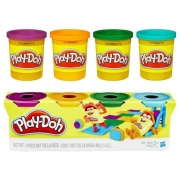 Massinha PLAY-DOH kit com 4 potes sortidos 2+ anos - Hasbro
