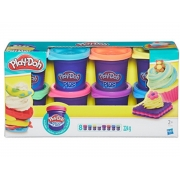 Massinha PLAY-DOH Plus com 8 potes sortidos 2+anos - Hasbro