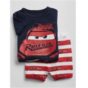 Pijama com short Disney carros - GAP