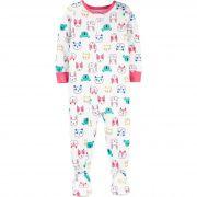 Pijama macacão de malha animais - Carters