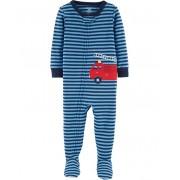 Pijama macacão de malha azul bombeiro - Carters