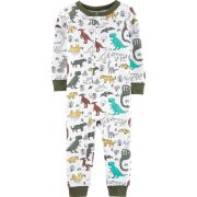 Pijama macacão de malha sem pé oliva dinossauros - Carters