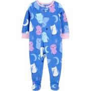 Pijama macacão de plush lilás Corujas - Carters