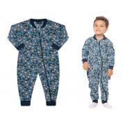 Pijama macacão soft Azul Koala - Vrasalon