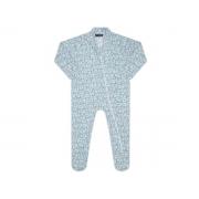 Pijama macacão soft Azul Ursinho - Vrasalon