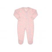 Pijama macacão soft rosa baleia petit - Vrasalon