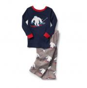 Pijama manga longa cinza Yeti - GAP