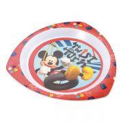 Prato raso triangular para microondas Mickey - Multikids Baby