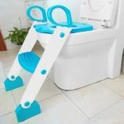 Redutor de vaso azul com escada - Kababy