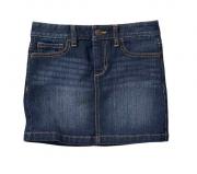 Saia jeans reta - Old Navy