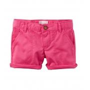 Short de sarja rosa - Carter's