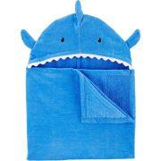 Toalha de banho azul Tubarão - Carters