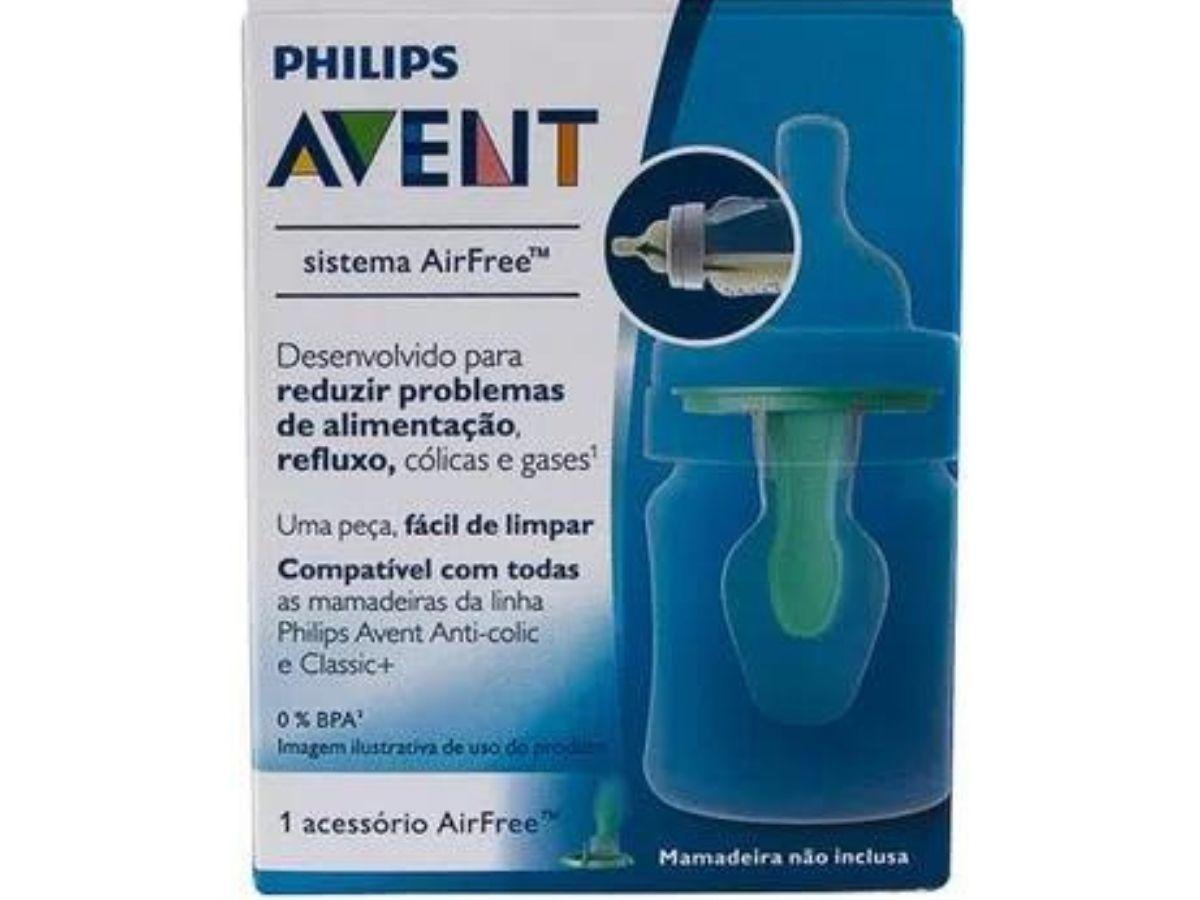 Acessório AirFree para mamadeiras Anti-colic Clássica - Avent  - Kaiuru Kids