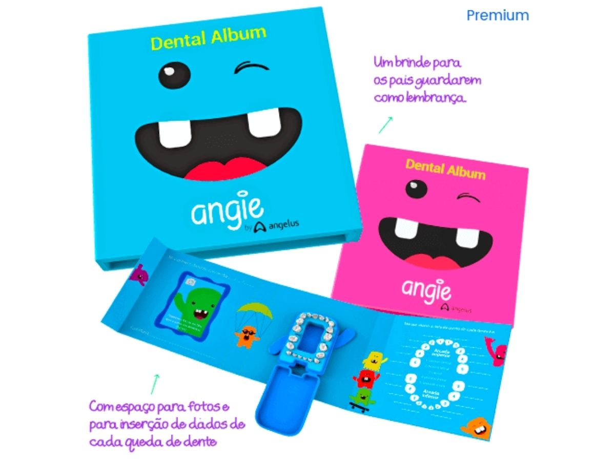 Álbum dental premium - Angie  - Kaiuru Kids
