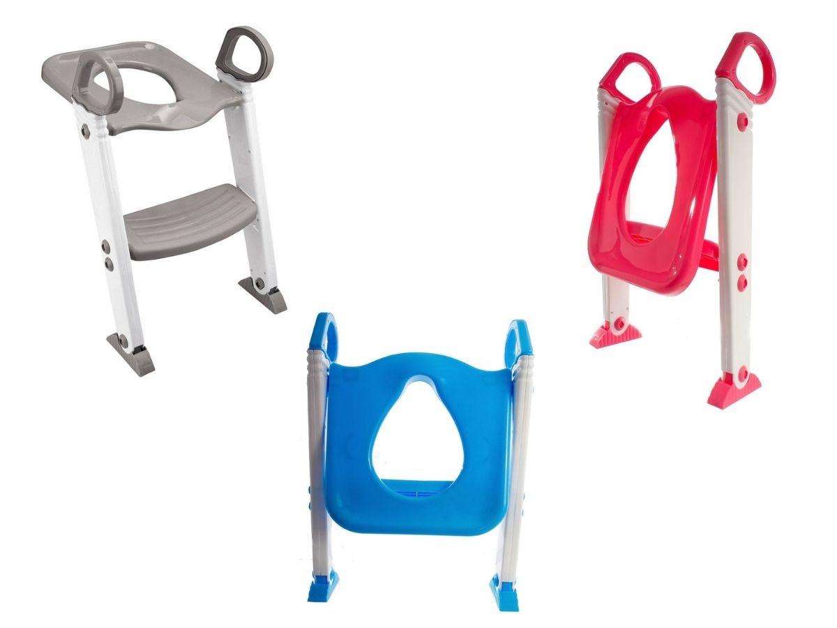 Assento redutor com escada - Kababy  - Kaiuru Kids