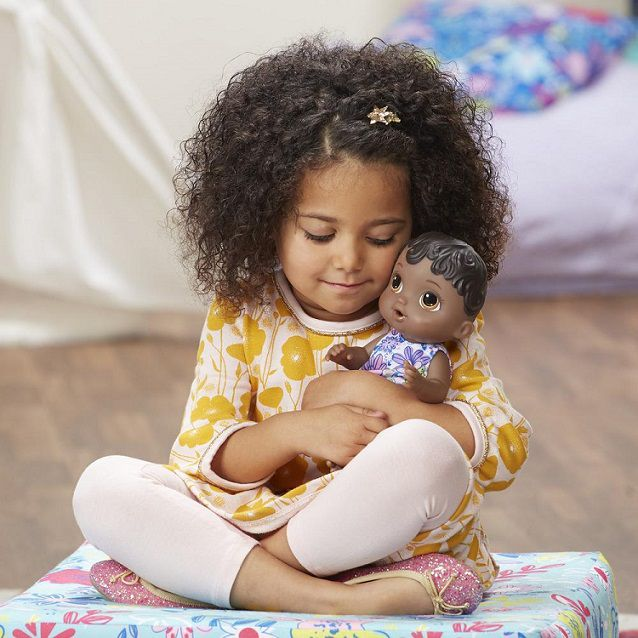 Baby Alive hora do xixi negra - Hasbro  - Kaiuru Kids