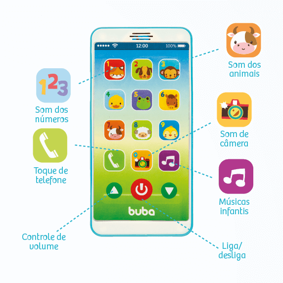 Baby phone - Buba  - Kaiuru Kids