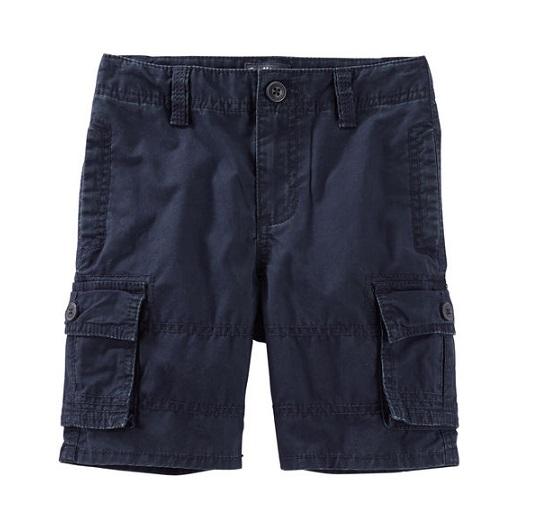 Bermuda cargo azul marinho - OshKosh  - Kaiuru Kids