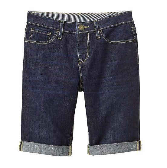 Bermuda dark jeans longa - GAP  - Kaiuru Kids