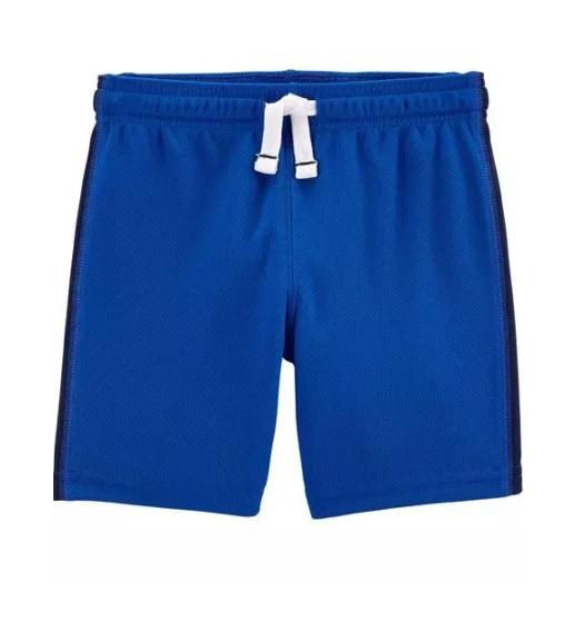 Bermuda esportiva azul - Carters  - Kaiuru Kids