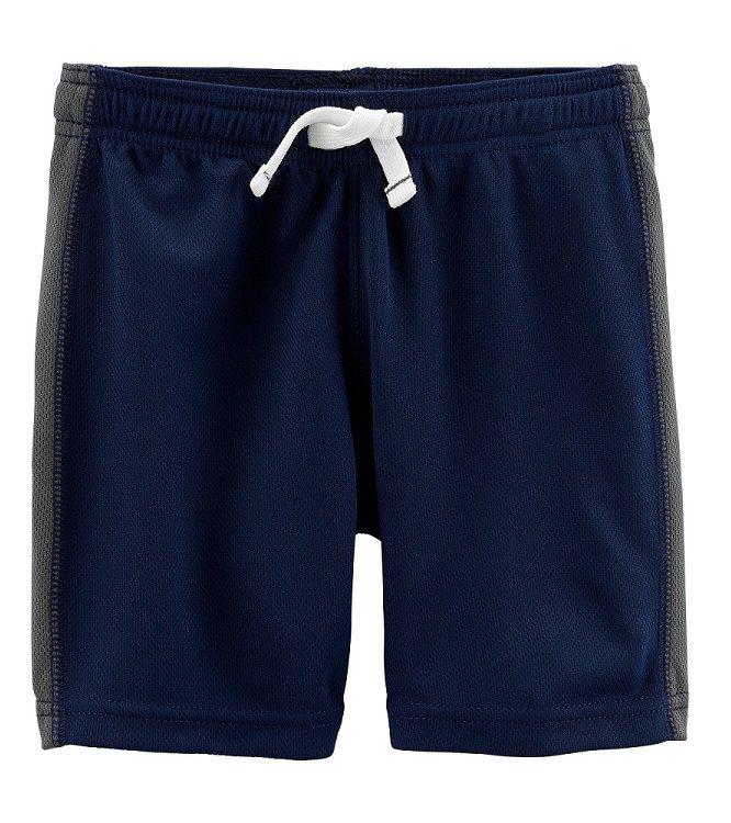 Bermuda esportiva azul marinho - Carters  - Kaiuru Kids