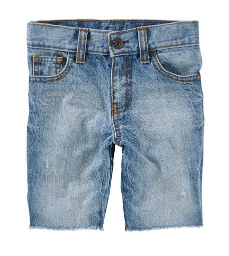 Bermuda jeans longa - OshKosh  - Kaiuru Kids