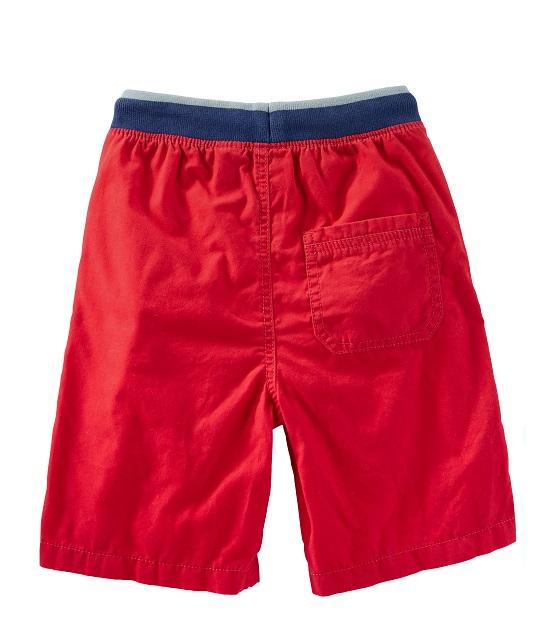 Bermuda vermelha com punho - OshKosh  - Kaiuru Kids