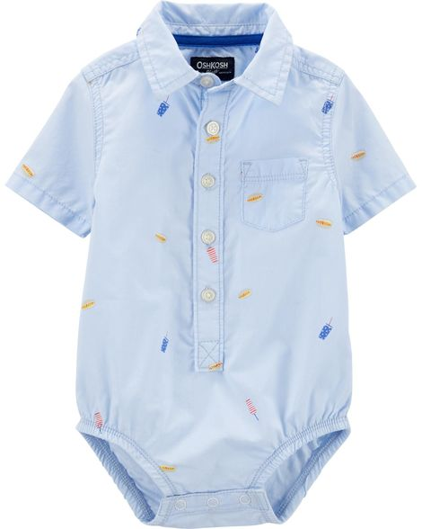 Body camisa Picnic - OshKosh  - Kaiuru Kids