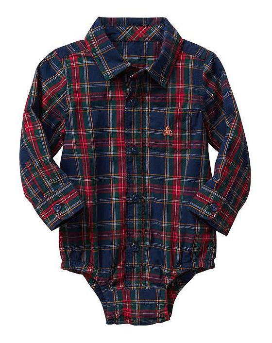 099a595b6e Body camisa xadrez - GAP - Kaiuru Kids - roupas e acessórios ...