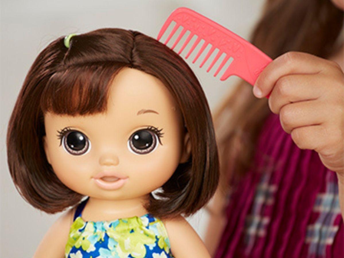 Boneca Baby Alive Sobremesa mágica morena 3+ anos - Hasbro  - Kaiuru Kids