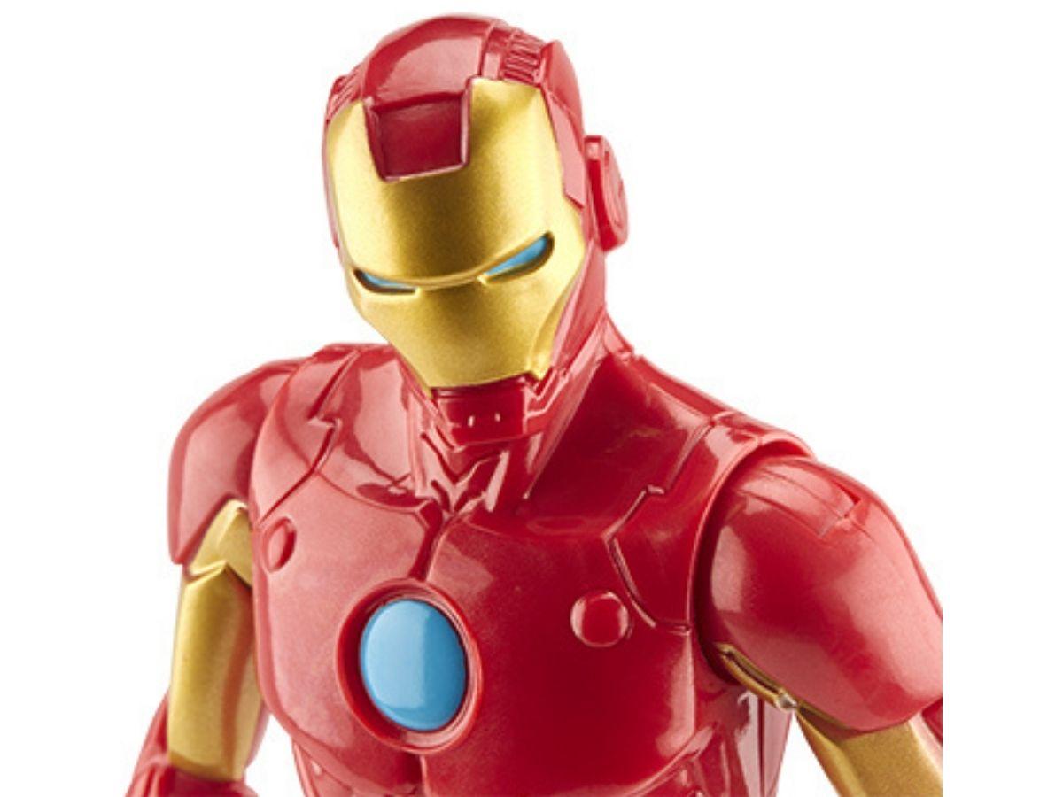 Boneco Titan Hero Marvel Homem de Ferro 4+ anos - Hasbro  - Kaiuru Kids