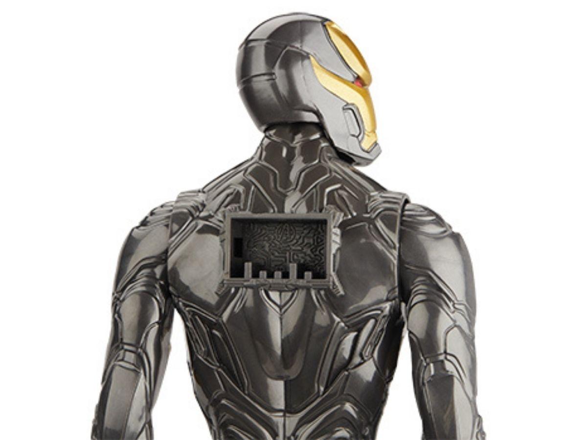Boneco Titan Hero Marvel Homem de Ferro traje dourado 4+ anos - Hasbro  - Kaiuru Kids