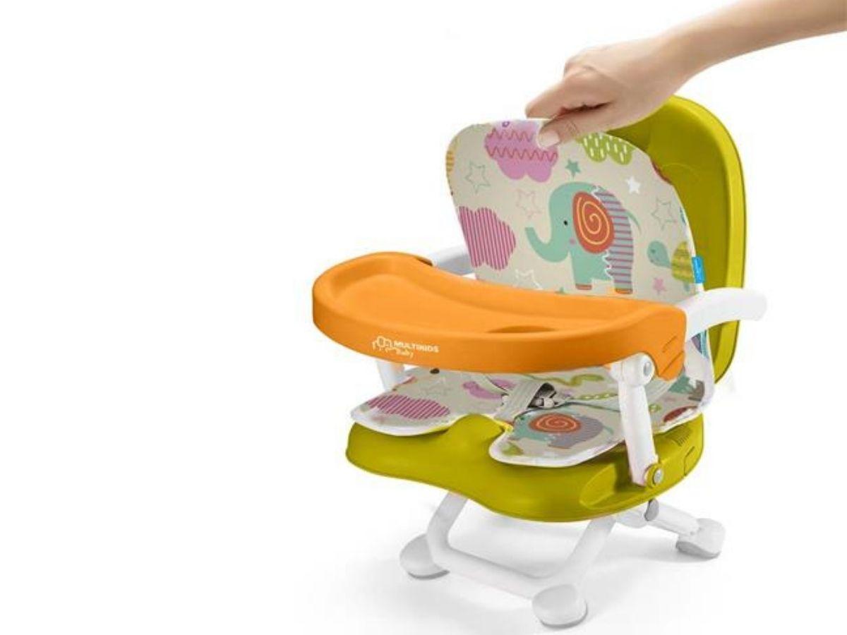 Cadeira de alimentação portátil Pop N Eat animais - Multikids Baby  - Kaiuru Kids