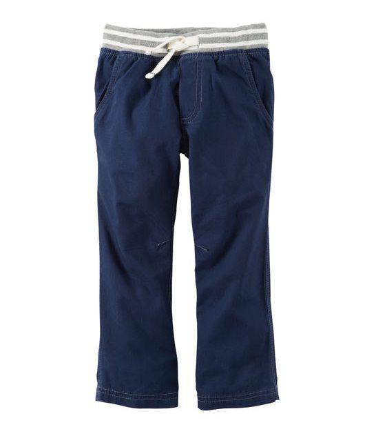 Calça canvas azul marinho - Carter