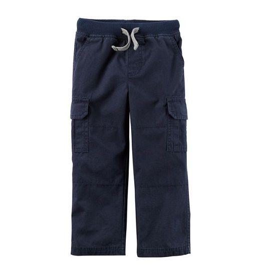 Calça cargo azul marinho - Carter