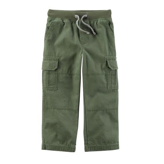 Calça cargo verde oliva - Carter
