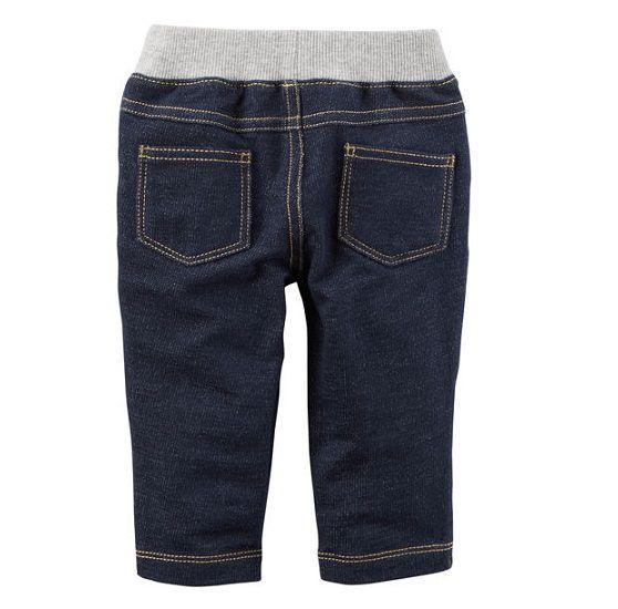 Calça de moletom falso jeans - Carter