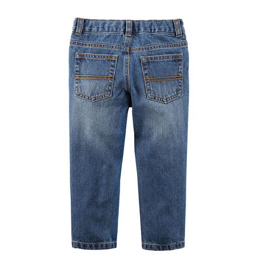 Calça jeans azul straight - Carter