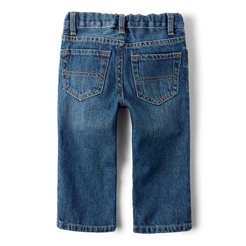 Calça jeans azul straight - The Children