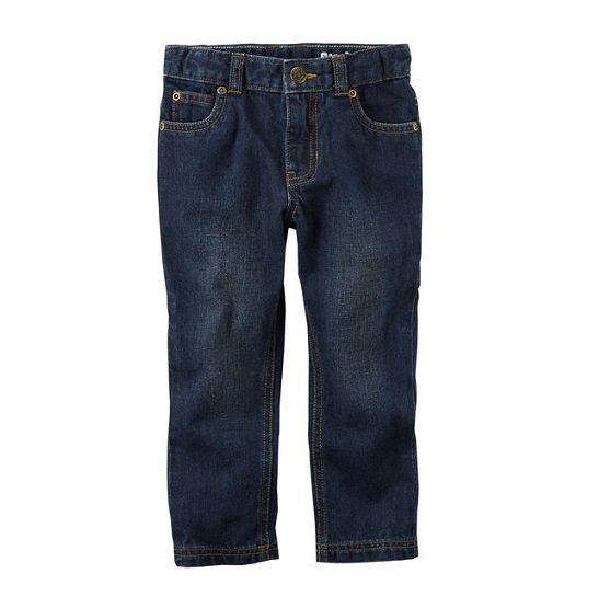 Calça jeans escura carpenter - Carter