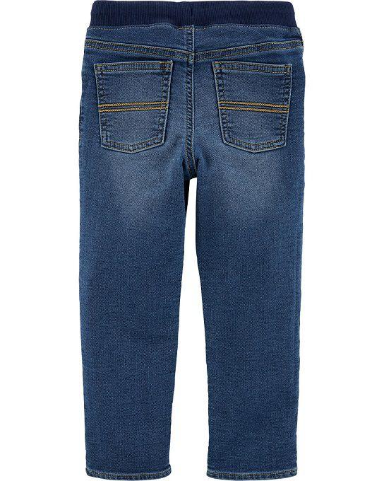 Calça jeans skinny com cós de punho - Carter