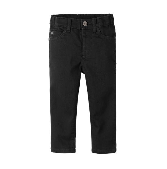 Calça jeans skinny preta - The Children