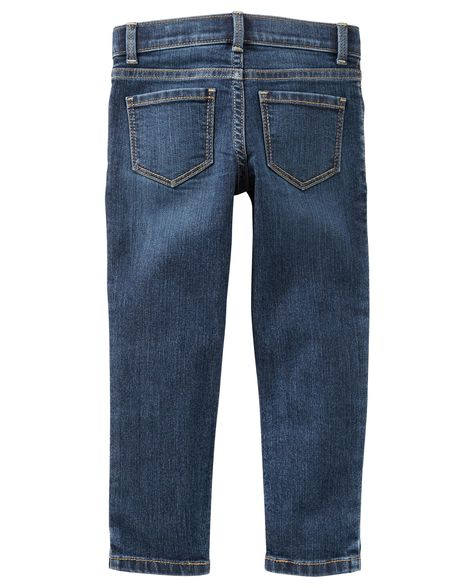 Calça jeans super skinny Marine Blue - Carter