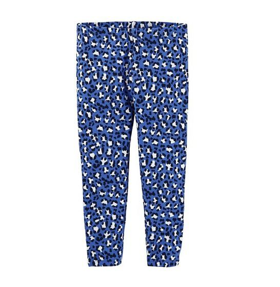 Calça legging azul estampa animal - OshKosh  - Kaiuru Kids