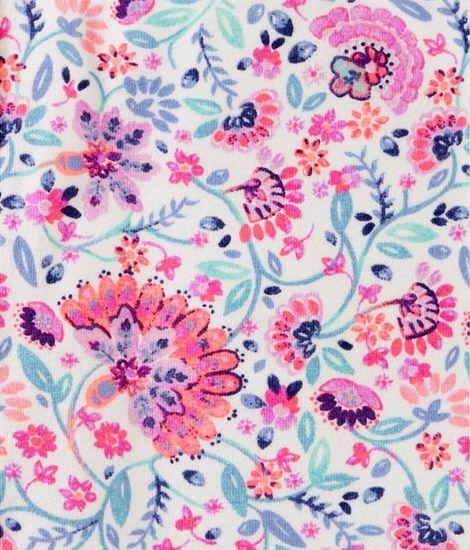 Calça legging floral - OshKosh  - Kaiuru Kids