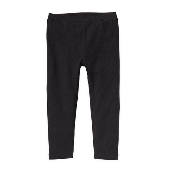 Calça legging lisa preta - GAP  - Kaiuru Kids